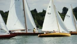 Traditionsklassen-Regatta der alten Segelvereine