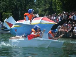 4. Starnberger Papierbootrennen