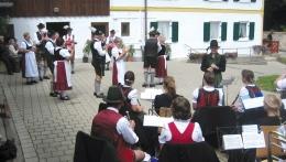 Straßenmusik und Volkstanz